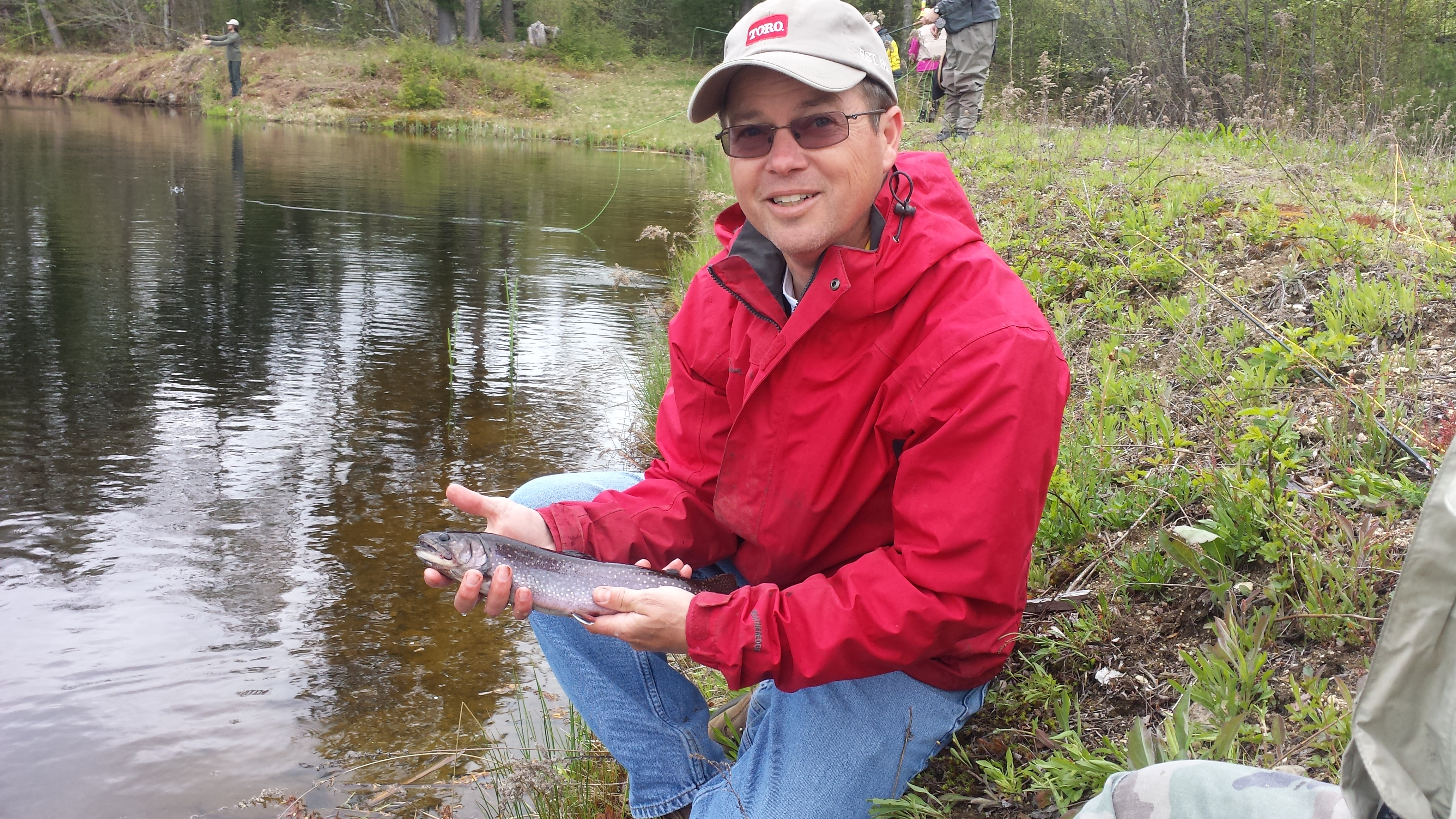 Fly fishing and casting school nh outdoor learning center for Fly fishing casting