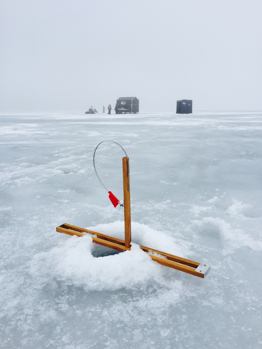 Ice fishing all species nh outdoor learning center for Ice fishing 2017